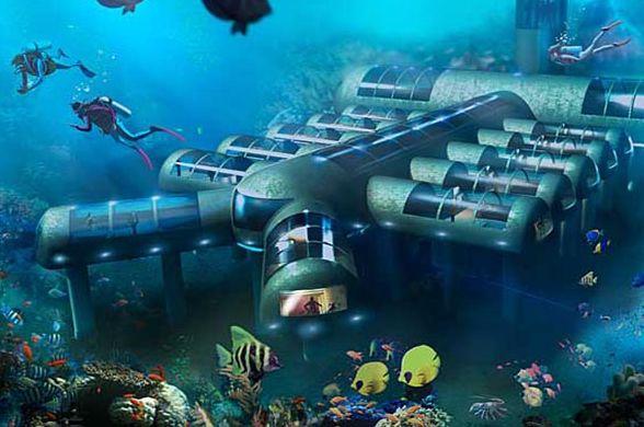 Американцы собираются построить под водой передвижной отель