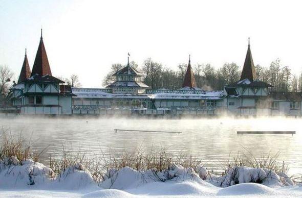 В Венгрии ждут, когда замерзнет Балатон