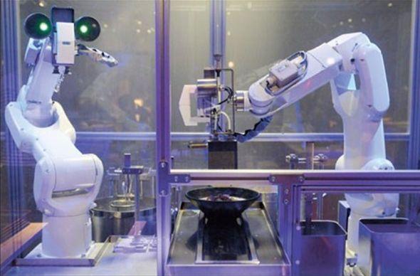 В шанхайском ресторане суп варят роботы