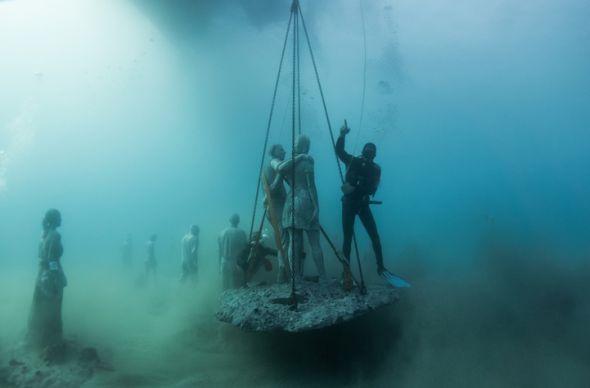 В Европе появился первый подводный музей