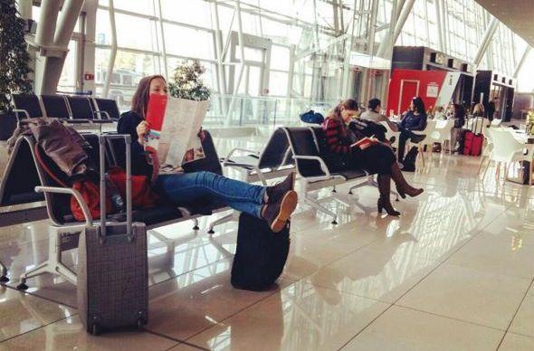 В Европе станет еще одним тихим аэропортом больше