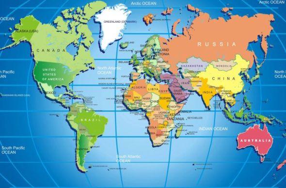 Топ-10 самых больших стран мира