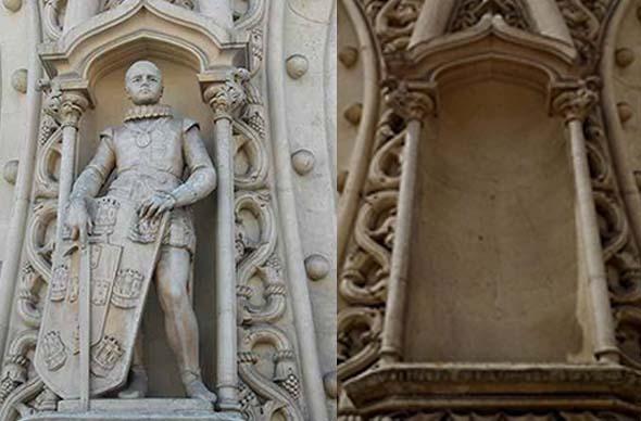 Селфи туриста стало причиной уничтожения ценной статуи в Лиссабоне