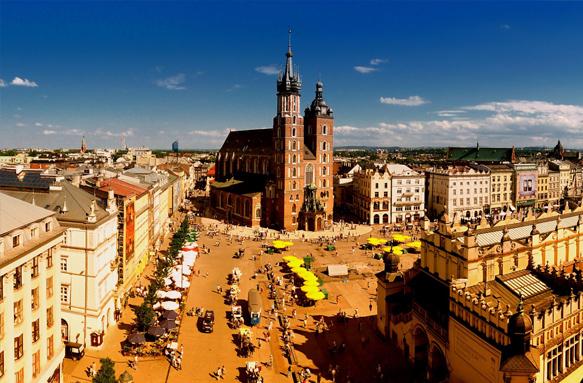 Краков – самый красивый и популярный город Польши