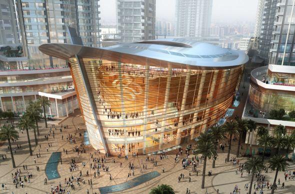 Дубай сможет похвастаться сверхсовременным оперным домом