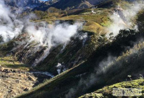 dolina geyzerov foto
