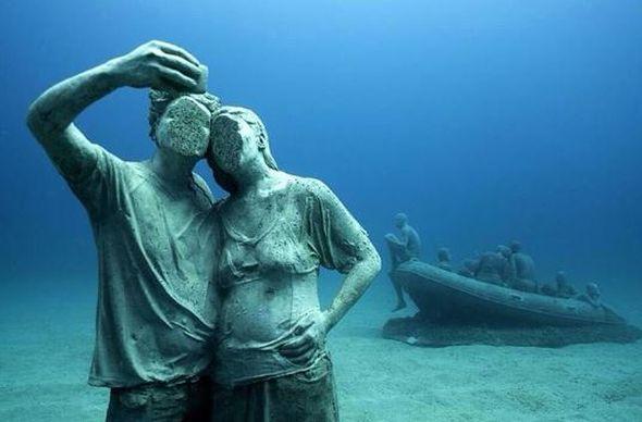 В Испании открылся первый в Европе подводный музей