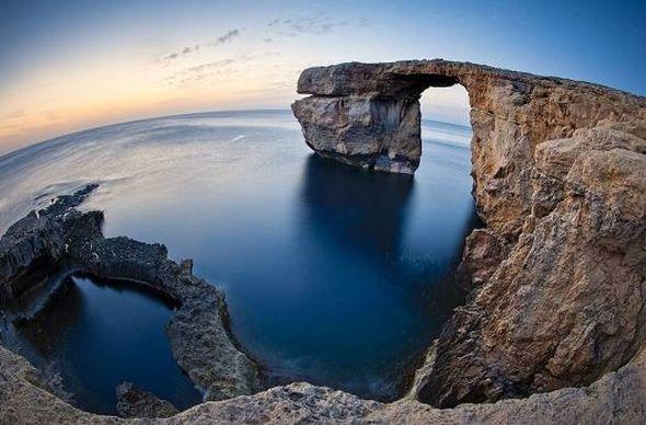 На днях Мальта лишилась известной природной достопримечательности
