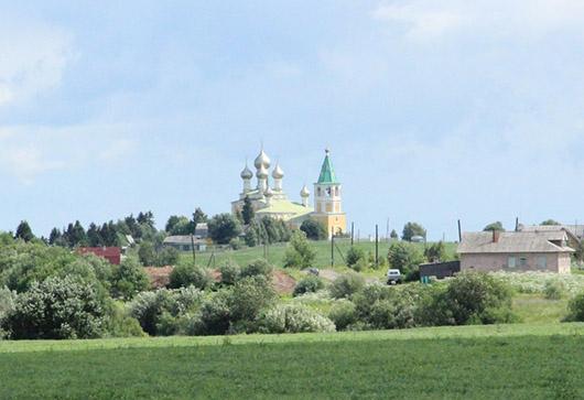 Холмогоры церковь