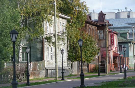Архангельск пешеходная улица