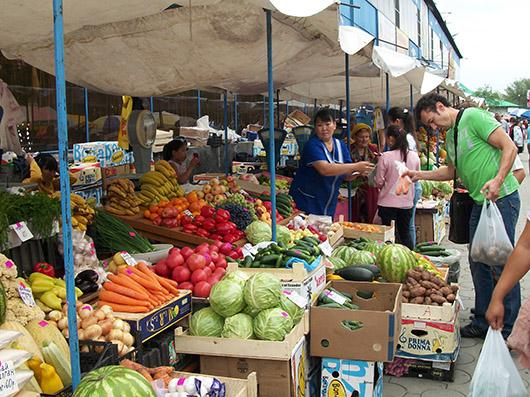 рынок кызыл фото