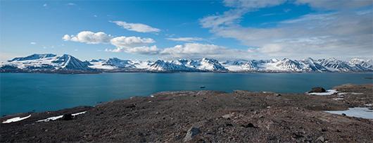 Шпицберген море фото